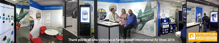 Thank you to all who visited us at Farnborough International Air Show 2016