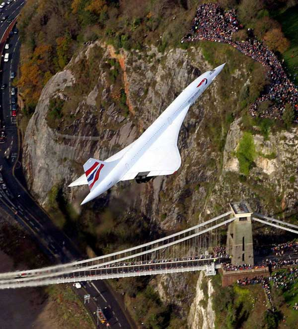 26th November 15 years ago was Concordes last flight back to Bristol