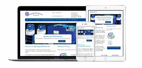 Synergy Devices Ltd SpeedMixer™ Web Site