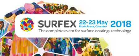 Exhibiting at Surfex 22nd-23rd May 2018