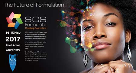 Exhibiting at SCS Formulate<br>14th-15th November 2017
